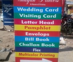 Vinayak Printers